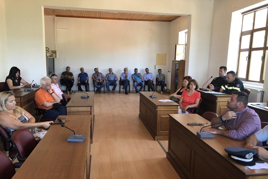Συνεδρίασε το Συντονιστικό Τοπικό Όργανο Πολιτικής Προστασίας του Δήμου Βορείων Τζουμέρκων