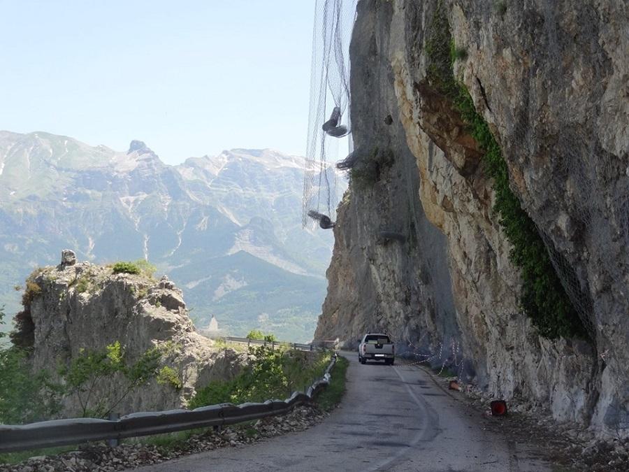 Κυκλοφοριακές ρυθμίσεις λόγω έργων στις Οροσήδες Μονολιθίου